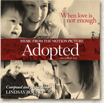 Cover of Adopted soundtrack CD